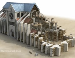 Construction - Notre Dame de Paris